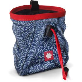 Ocun Lucky Chalk Bag with Belt, drops blue